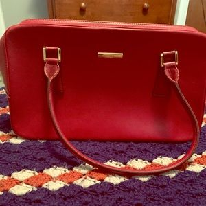Authentic burberry RED bag